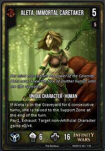 Aleta, Immortal Caretaker