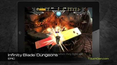 Infinity Blade Dungeons Gmeplay Footage