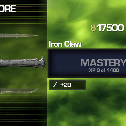 Screenshot of Iron Claw (IB1)