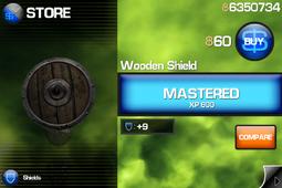 Wooden Shield (IB1)