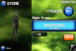 Night Armor IB1
