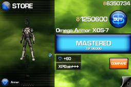 Omega Armor XOS-7 IB1