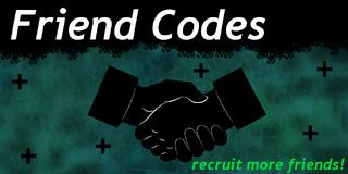 Wiki friendcodes