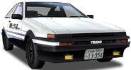 Takumi's Trueno (Fujiwara Tofu Shop)