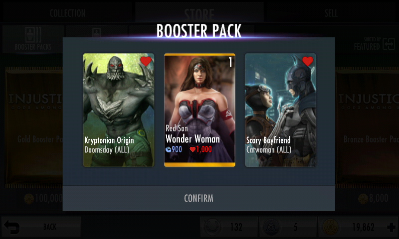 Gold Booster Pack | Injustice Mobile Wiki | FANDOM powered ...