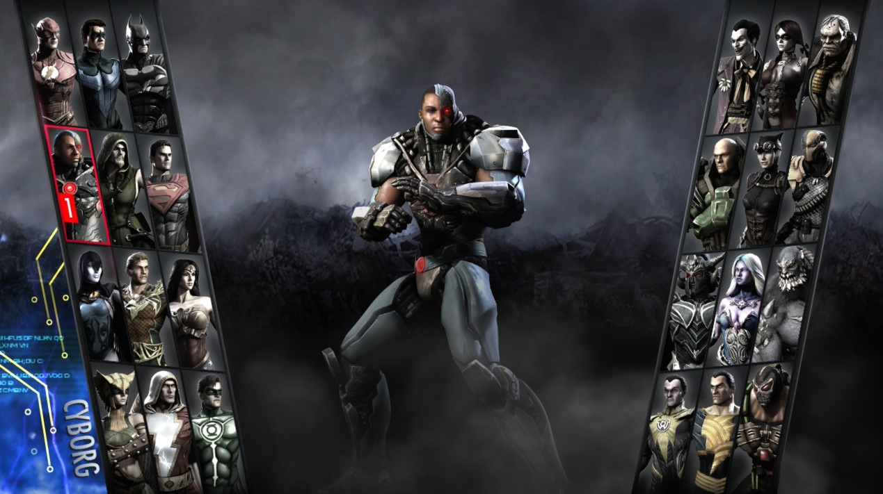 Image result for cyborg injustice gods among us