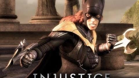Injustice Gods Among Us Batgirl Story Trailer-0