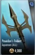 Poseidon's Trident Support Card
