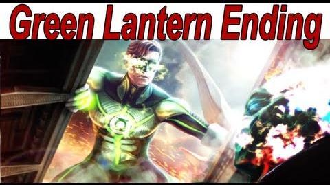 Injustice Gods Among Us - Green Lantern Ending 【HD】