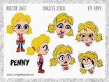 Penny 2D arts
