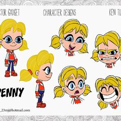 Penny's 2D designs by Ken Turner