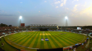 Zohur Ahmed Chowdhury Stadium at night