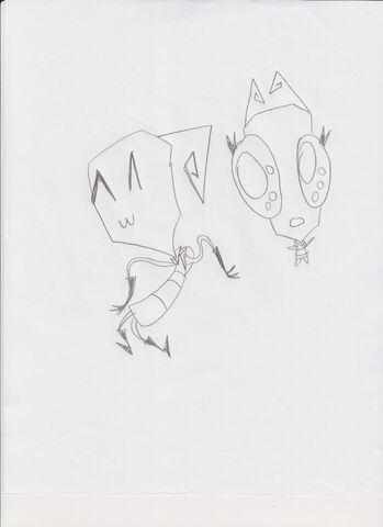 File:Miz and Misty in their usual behavior.jpg