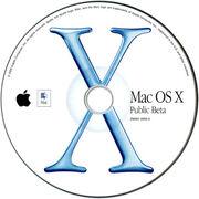 Osx beta cd