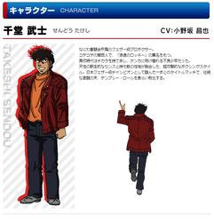 Sendou Takeshi Rising Profile