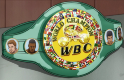 World Boxing Council Belt