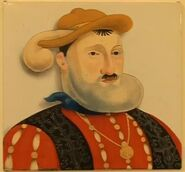 Desperate Dan as Henry VIII