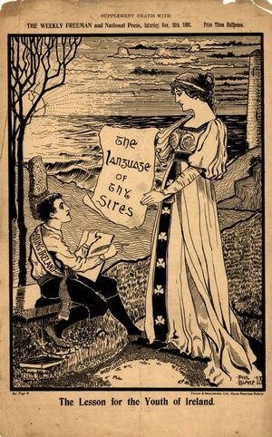 1898-11-26 Blake the lesson for the youth of ireland
