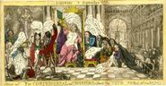 The confessional or concession without the veto. Satirist 1st September 1812