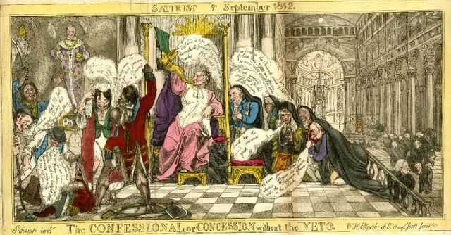 File:The confessional or concession without the veto. Satirist 1st September 1812.jpg
