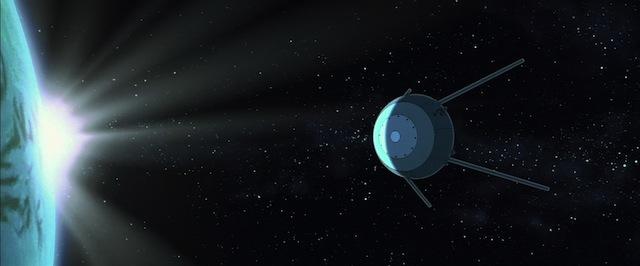 File:Sputnik Passing the Earth.jpg
