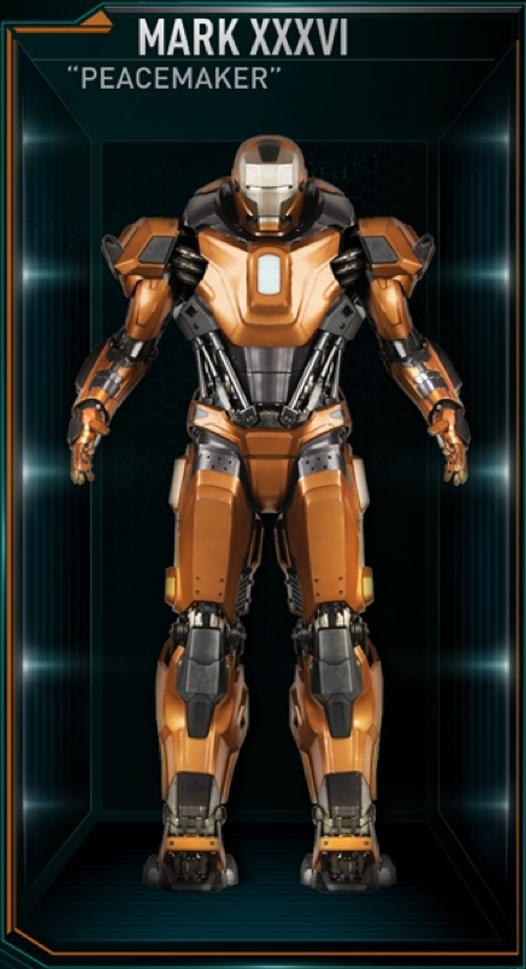 Iron Man Mark 36 Peacemaker Full resolution