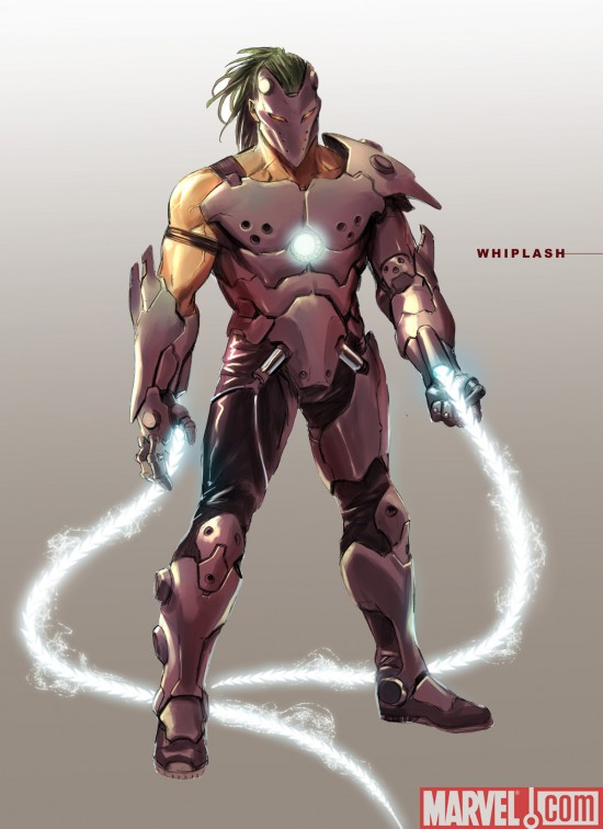 Whiplash Earth616 Iron Man