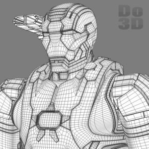 Large iron man 3 suits - patriot armor mark 39 gemini armor 3d model 3ds fbx obj max 74e235f4-e522-49e5-ae9b-38e442e26c15