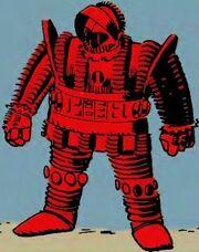 Crimson Dynamo Armor MK I
