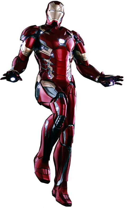 Marvel Iron Man Mark Xlvi Sixth Scale Captain