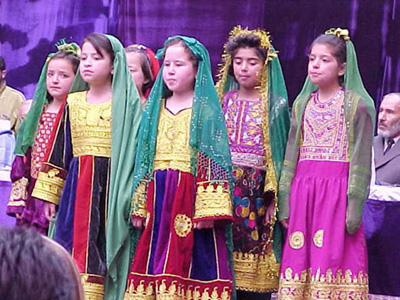 File:Afghan girls in traditional clothes.jpg