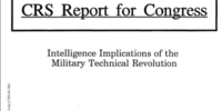 Intelligence Implications of the Military Technical Revolution