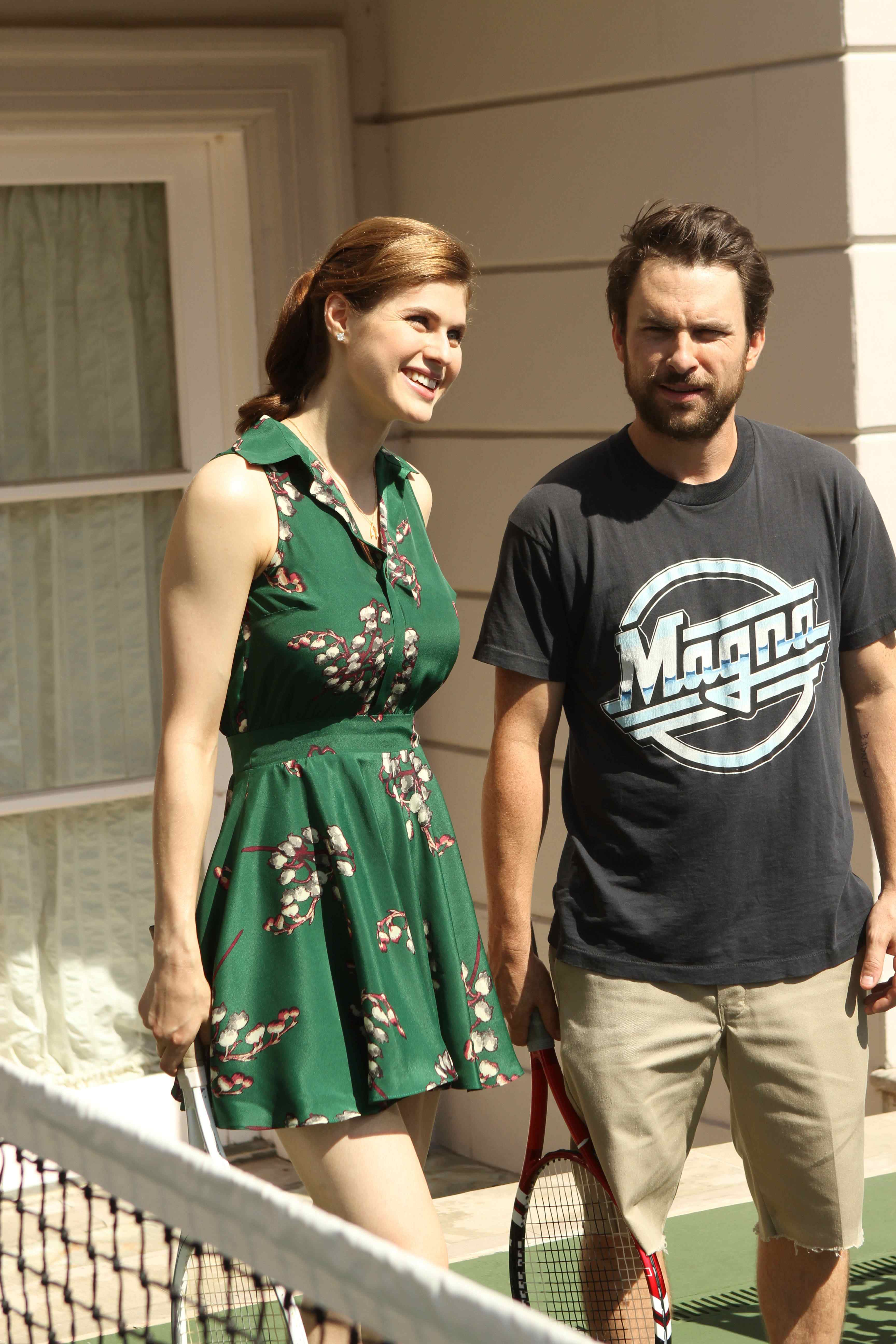 iasip charlie dating They met in 2001 and were dating in 2004 when they co-starred as incestuous siblings on reno 911 wikimedia commons has media related to charlie day.
