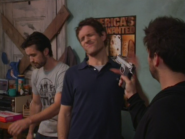 File:1x5 Charlie aims at Dennis and Mac.png