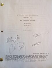 Signed Script