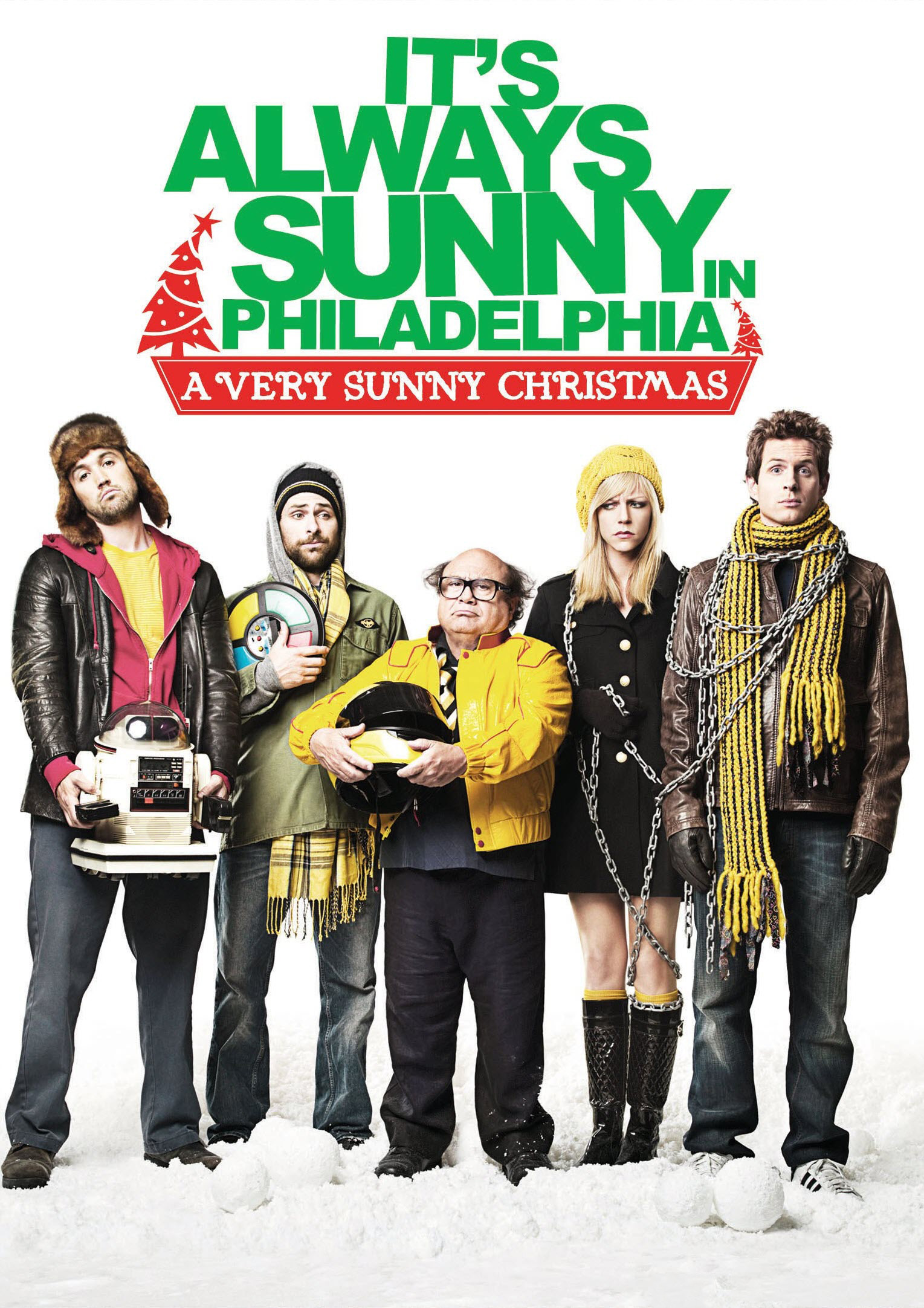 A Very Sunny Christmas DVD   It's Always Sunny in Philadelphia ...