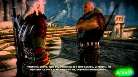 The Witcher 2 gameplay Epilogo THE END FINALE - Letho Fight.avi