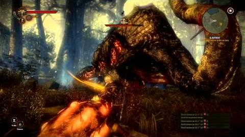 The witcher 2 gameplay ITA HD - uccidere il Kayran