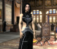 Yennefer at home
