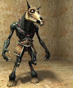 Horse Demon render