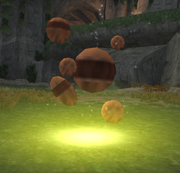 Precursor artifact from Jak X