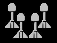 Strike missiles icon