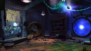 Blue Sage's hut interior