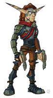 Torn from Jak II concept art