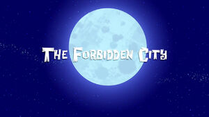 The Forbidden City title card