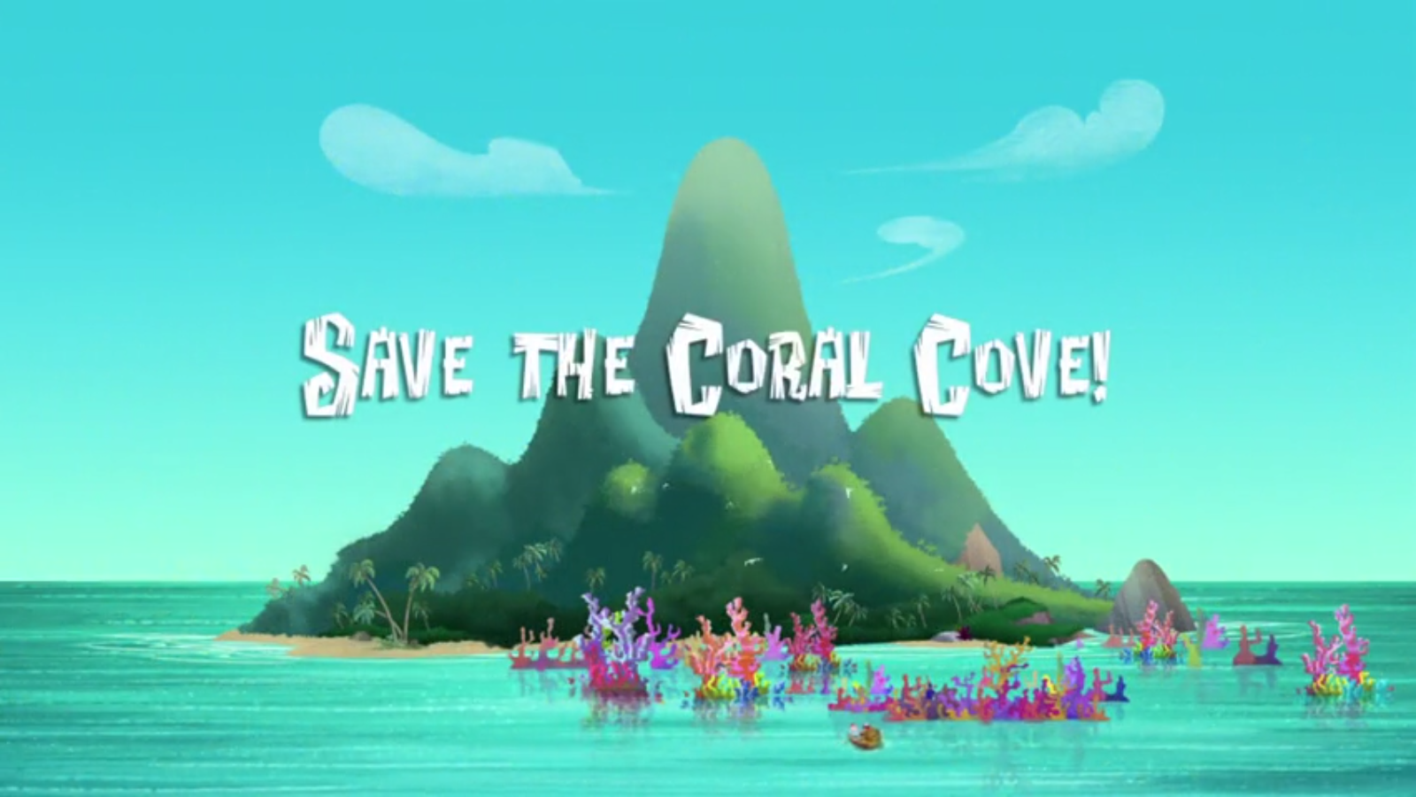 save the coral cove jake and the never land pirates