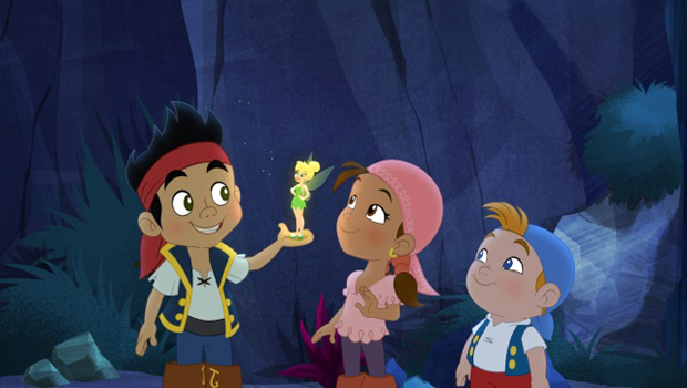 jake and the neverland pirates meet tinkerbell
