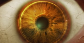 Close of of the cybernetic eye (GoldenEye Rogue Agent)