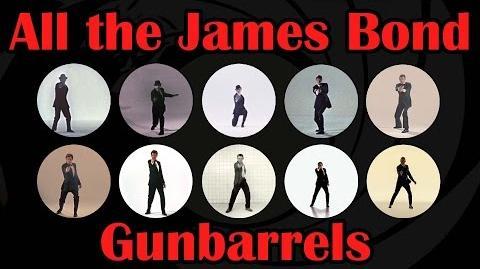 All James Bond Gunbarrels 1962 - 2015