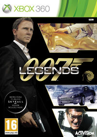 007 Legends Xbox 360 box art